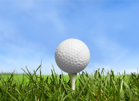 off course: Golf.