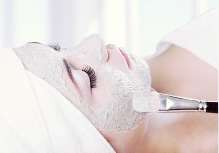 limpieza de cutis: M�scara facial.