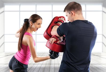 boxing training: Boxing.