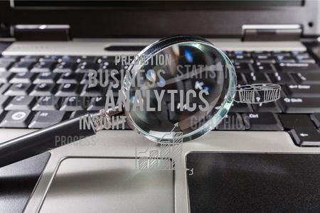 scrutinize: Magnifying Glass.