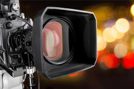 video cameras: The Media.