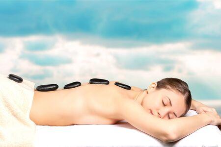 relaxation massage: Massaging.