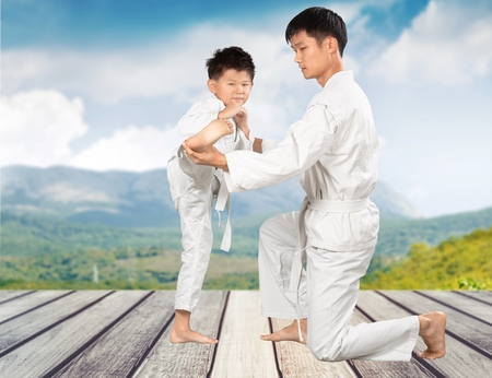 karate boy: Karate.