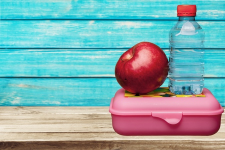 lunch: Lunch Box. Stock Photo