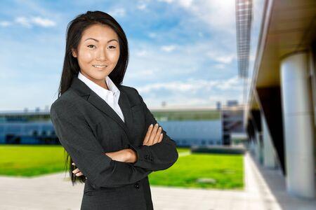 working attire: Women with working attire