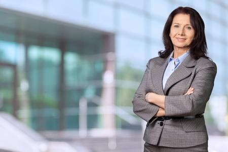 business model: Vrouwen met werkende kledij