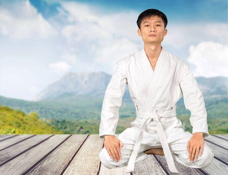 combative sport: Karate.