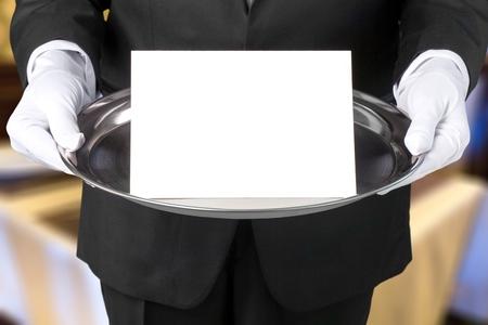 Butler. Banque d'images
