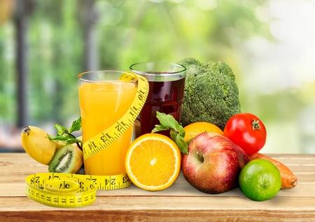 fruits juice: Diet.