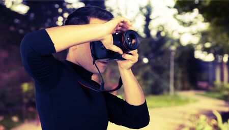 one person only: Photographer.