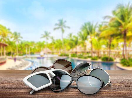 personal accessory: Sunglasses.