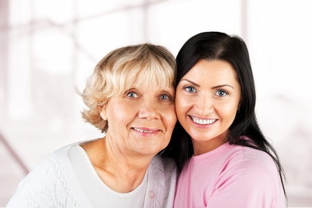 grandmother mother daughter: Asian Ethnicity. Stock Photo