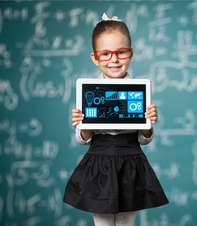 cute girl: Kid. Stock Photo
