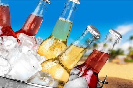 soda: Drink. Stock Photo