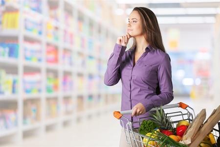 Supermarket. Фото со стока