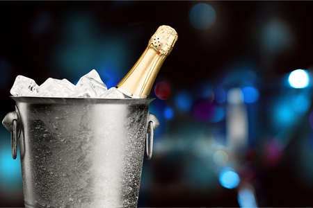 ice bucket: Champagne Ice Bucket.