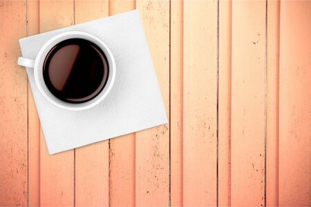 high section: Coffee Cup. Stock Photo