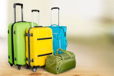 rucksack ': Polycarbonate suitcases.