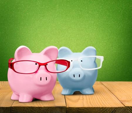 cut outs: Piggy Bank.