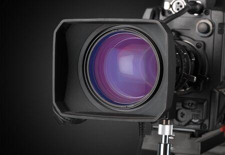 video camera: Video camera. Stock Photo