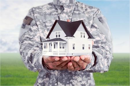 us military: Veteran House.