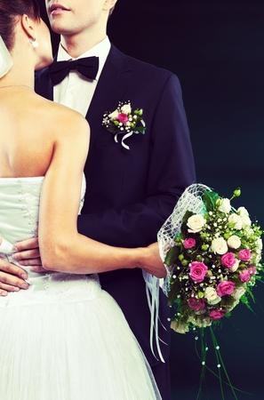 wedding vows: Wedding Couple.