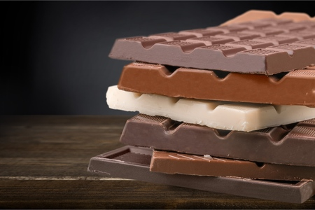 Candy Bars. Banque d'images