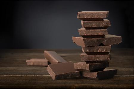 dark chocolate: Dark Chocolate. Stock Photo