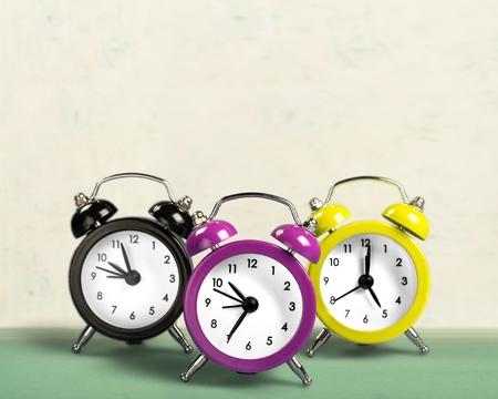 cut outs: Alarm Clocks.