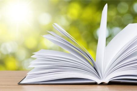 book open: Open Book. Stock Photo