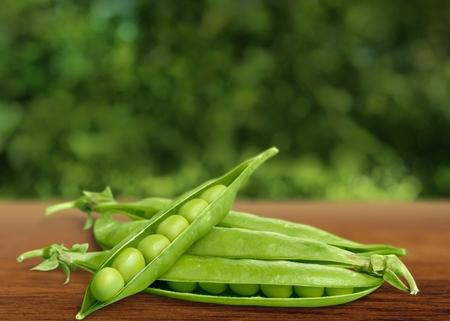 green pea: Green pea. Stock Photo