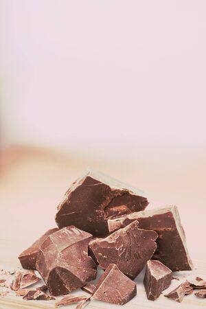 dark: Dark Chocolate. Stock Photo