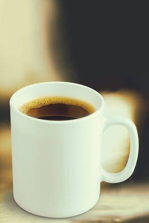 spume: Mug cup. Stock Photo