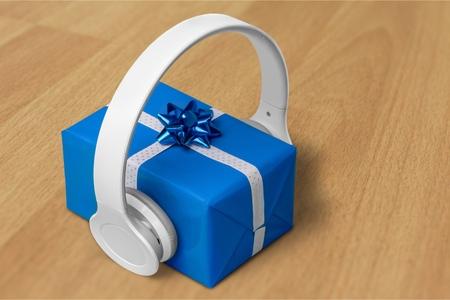 auriculares: Regalo de la música.