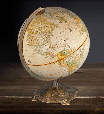 sphere: Globe Sphere. Stock Photo