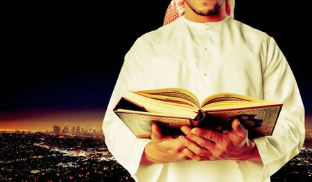 preacher: Muslim preacher.