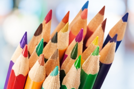 color pencils: Color Pencils. Stock Photo