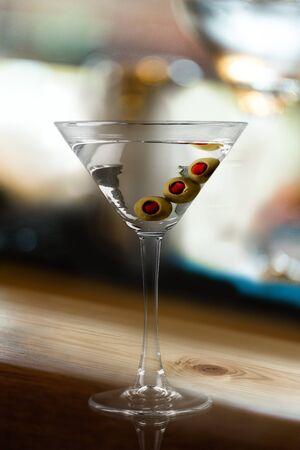 copa martini: Vidrio de Martini. Foto de archivo