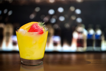 drinks after work: Juice Cocktail. Stock Photo
