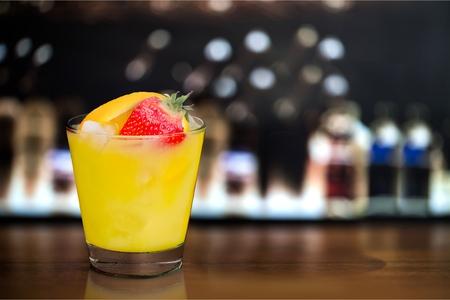 mocktail: Juice Cocktail. Stock Photo