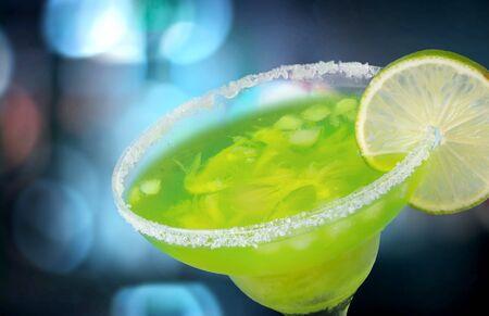 margarita cocktail: Cóctel Margarita. Foto de archivo