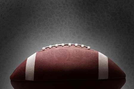 american: American football. Stock Photo