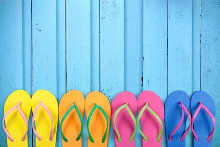 flipflops: Beach Flip-flops.