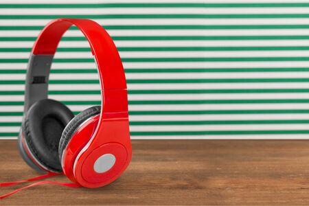 audio: Audio headphones. Stockfoto