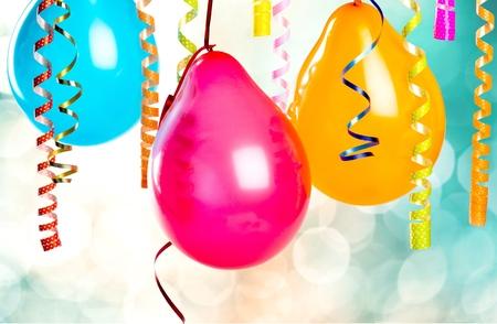 globos fiesta: Globos de la fiesta. Foto de archivo