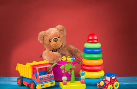plastic toys: Kid toys.