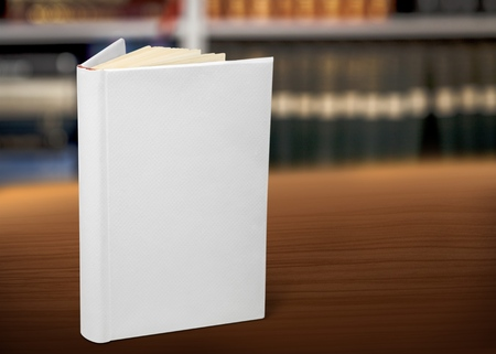 note booklet: Blank book. Stock Photo