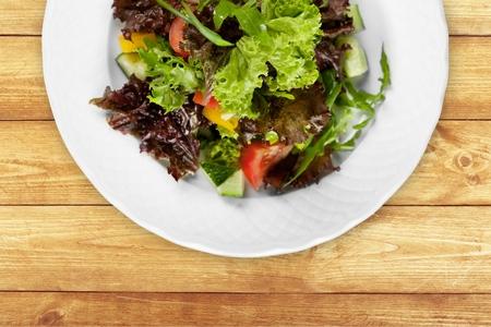 Vegetarian Food. Stock Photo