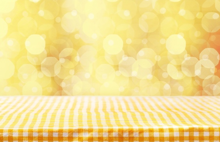 Table cloth. Stock Photo