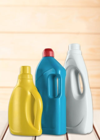 detergents: Laundry Detergents. Stock Photo